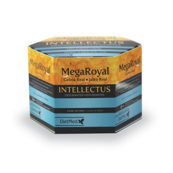 MEGA ROYAL INTELLECTUS | 20 X 15ML AMPOLAS