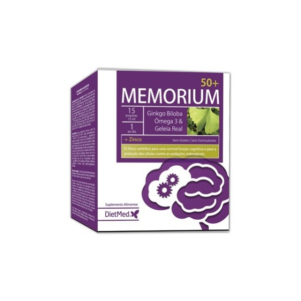MEMORIUM 50+ | 15 X 15ML AMPOLAS