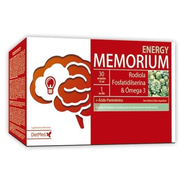 MEMORIUM ENERGY | 30 X 15ML AMPOLAS