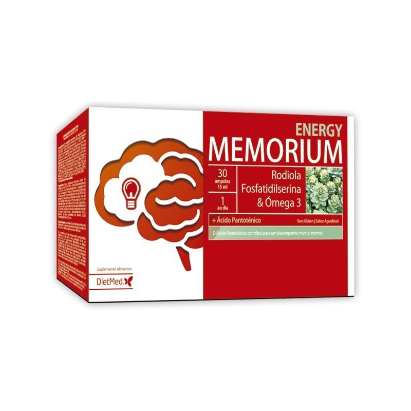 MEMORIUM ENERGY | 30 X 15ML AMPOLAS