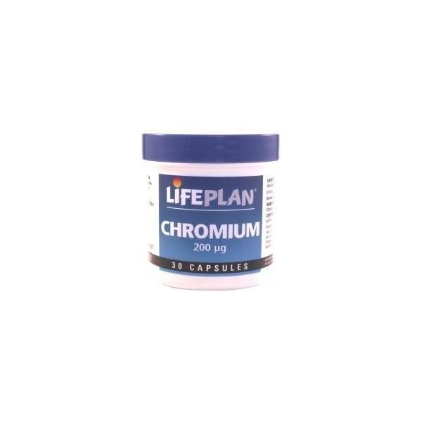 Chromium - CRÓMIO - 30 Cápsulas de 200 ug
