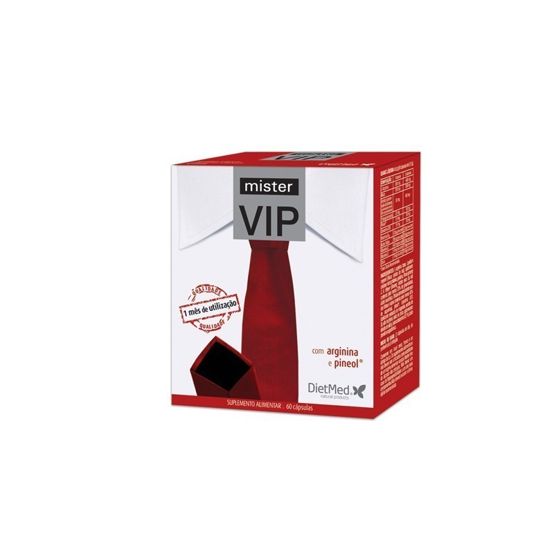 MISTER VIP | 60 CAPSULAS