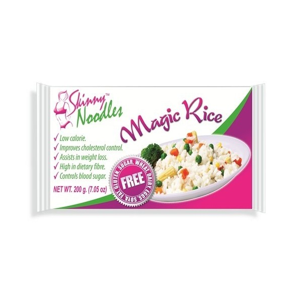 Skinny Noodles (shirataki noodles) - Dieta do Macarrão Konjac - Magic Rice