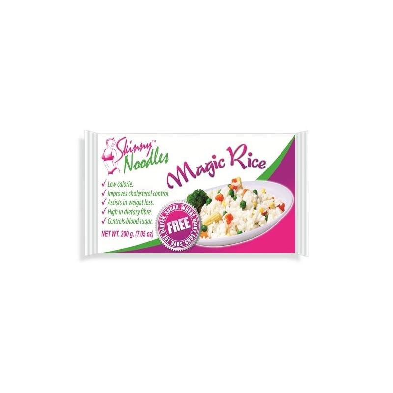 Skinny Noodles (shirataki noodles) - Dieta do Macarrão Konjac - Magic Rice