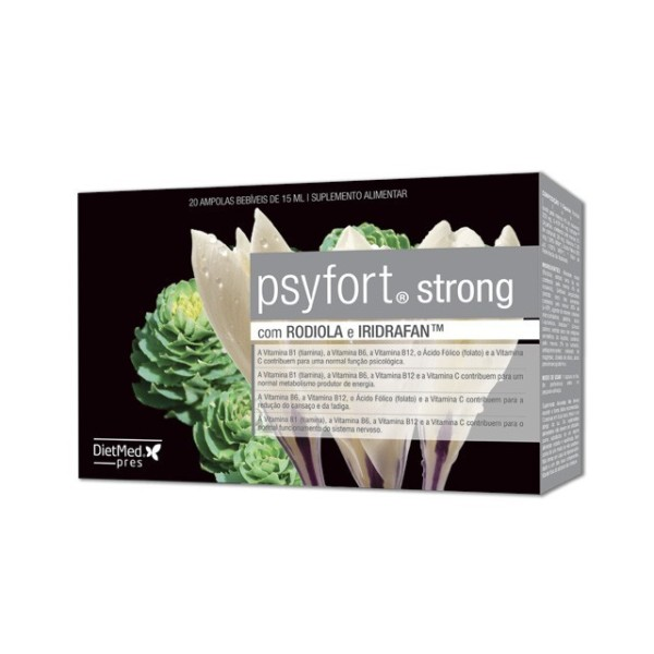 PSYFORT STRONG | 20 X 15ML AMPOLAS