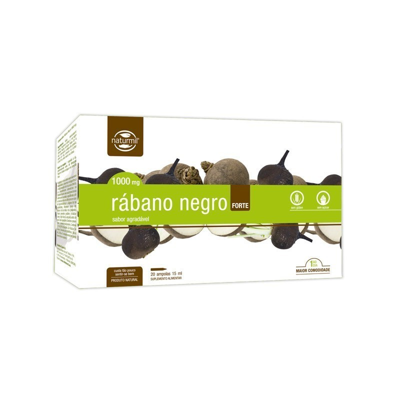 RABANO NEGRO FORTE | 20 X 15ML AMPOLAS
