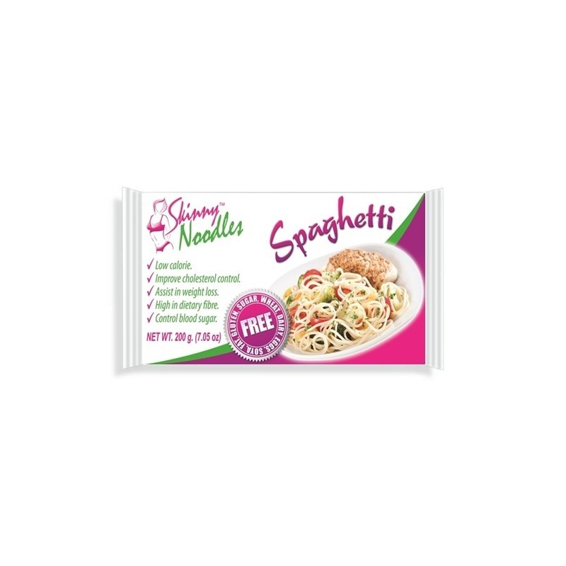 Skinny Noodles (shirataki noodles) - Dieta do Macarrão Konjac - Spaghetti