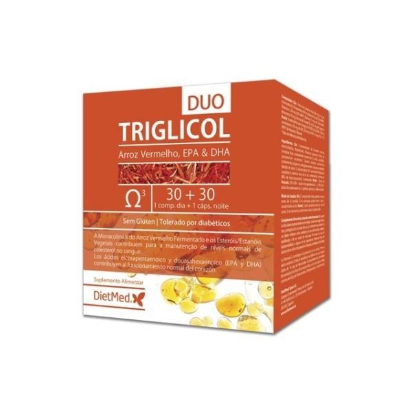 TRIGLICOL DUO | 30 COMPRIMIDOS + 30 CAPSULAS