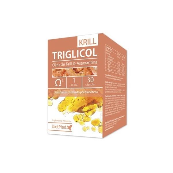 TRIGLICOL KRILL | 30 CAPSULAS