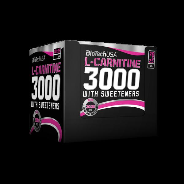 Liquid L-Carnitine Amp 3000mg 20x25ml