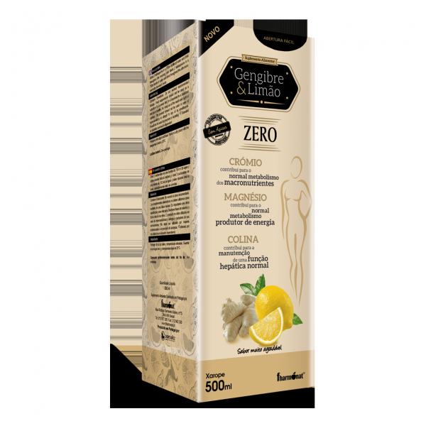 Gengibre e Limão Zero - Xarope Fharmonat