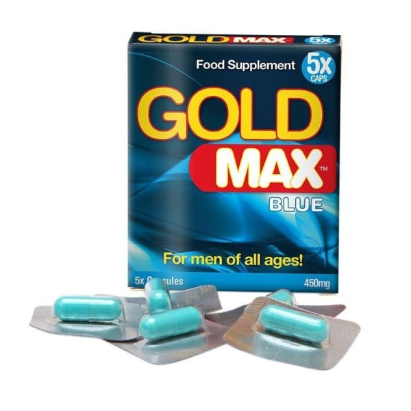 Gold MAX - 450mg - 5 Cápsulas