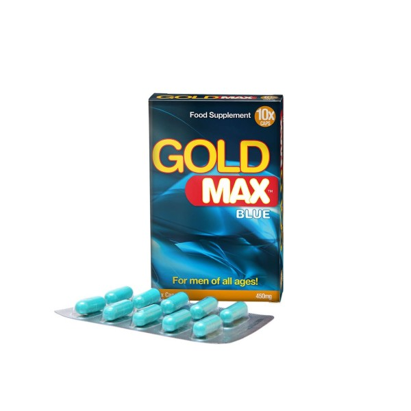 Gold MAX - 450mg - 10 Cápsulas