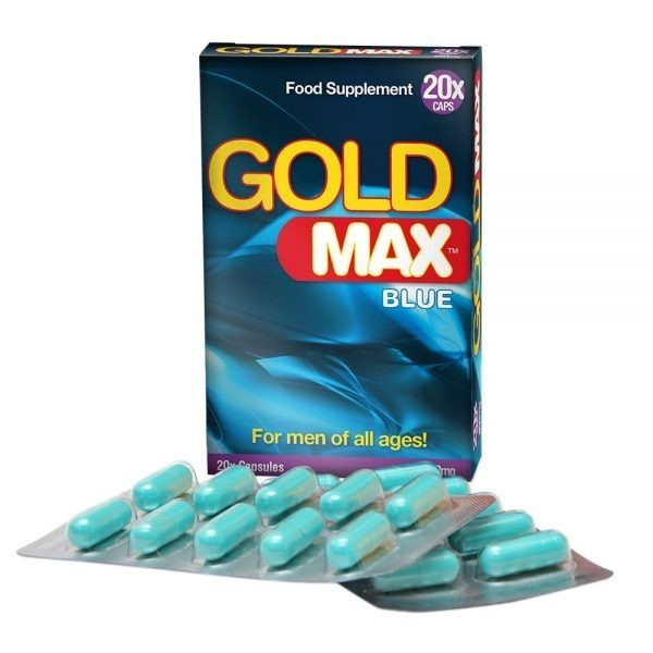 Gold MAX - 450mg - 20 Cápsulas