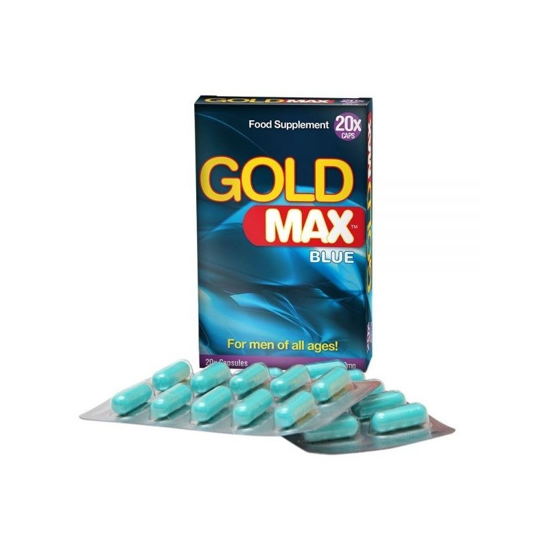 Gold MAX - 450mg - 20 Cápsulas