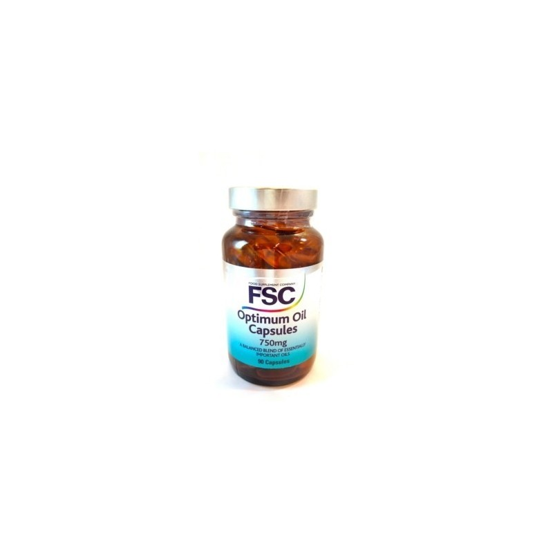 Optimum Oil Capsules 750mg OMEGA 3, 6 & 9 - FSC - 90 cápsulas a 750mg