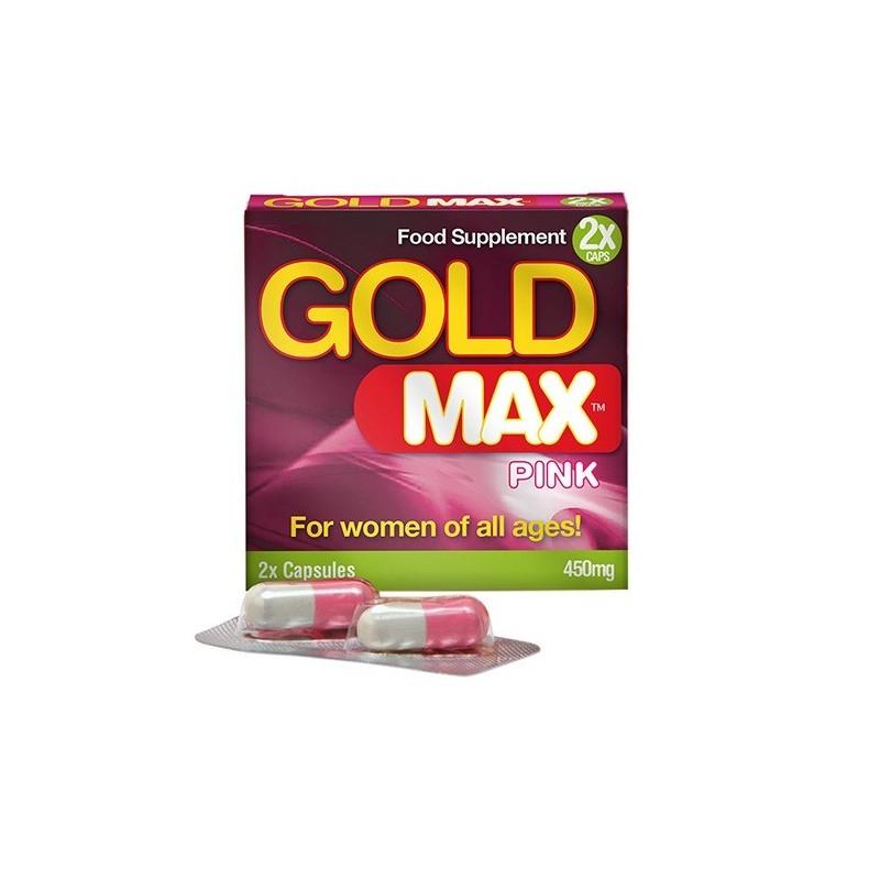 Gold MAX Pink 450mg - 2 cápsulas