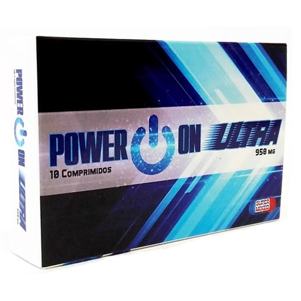 Power On Ultra - 10 Comprimidos