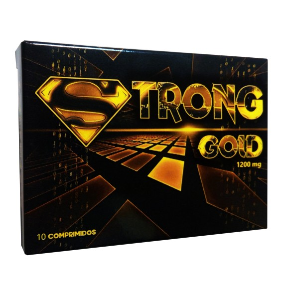 Strong Gold - 10 comprimidos