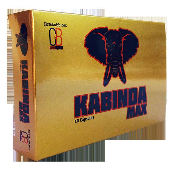KABINDA MAX 885mg 10 Cápsulas - Pau de Cabinda