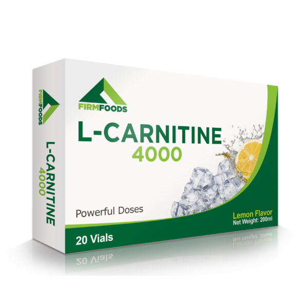 Firm Foods - L-Carnitine 4000 - 20 frascos