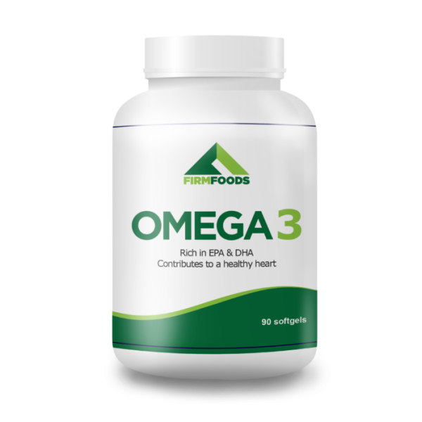Firm Foods - Omega 3 - 90 cápsulas
