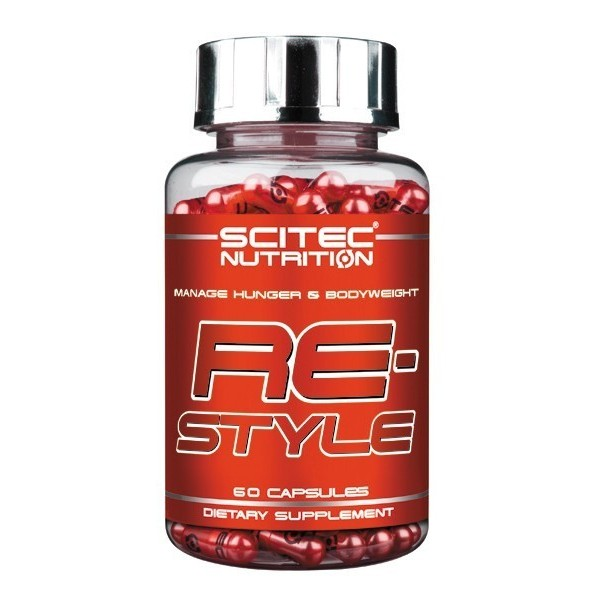 RESTYLE 60 cápsulas Scitec - Controlo da fome e do peso corporal
