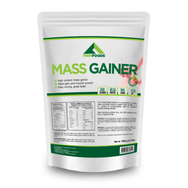 Firm Foods - Mass Gainer - 4.5kg