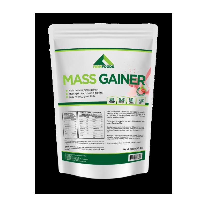 Firm Foods - Mass Gainer - 4.5kg