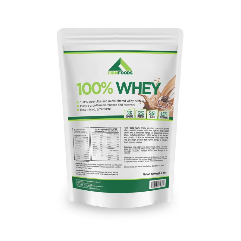 Firm Foods - 100% Whey - 4kg