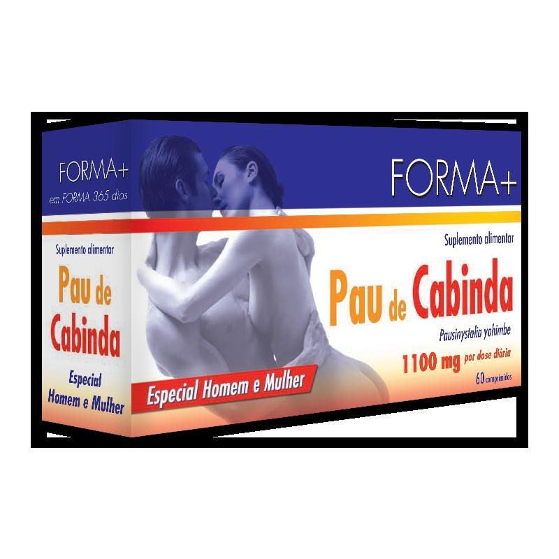 Pau de Cabinda - 60 comprimidos de 350mg