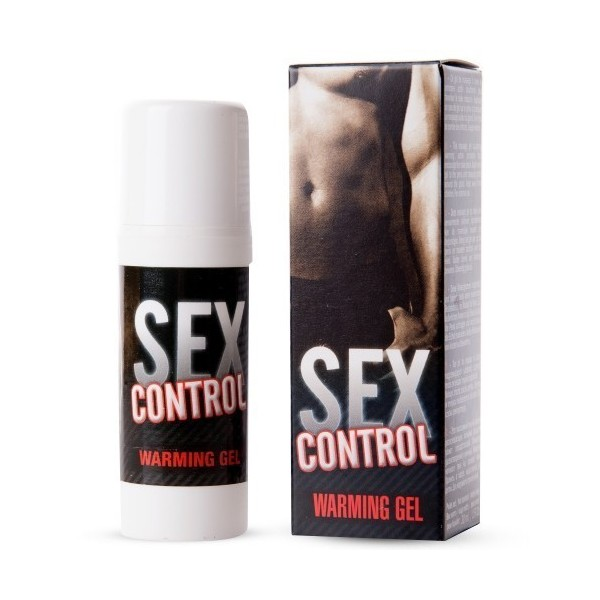 Sex Control Efeito Quente - Creme retardante sexual masculino - 30ml