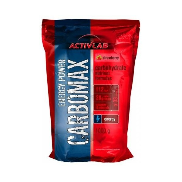 CARBOMAX ENERGY POWER 1000 Gr - ActiveLab