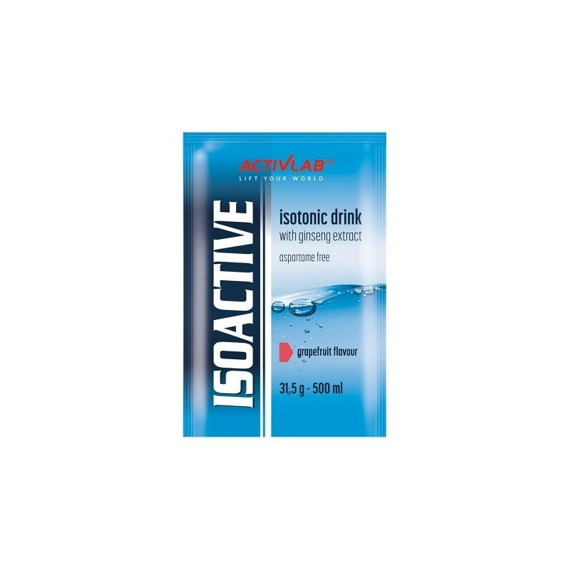 ISOACTIVE - 20 saquetas - ActiveLab