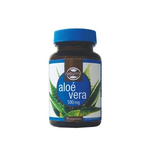 Aloé Vera 90 Comprimidos - 500mg - Desintoxicante e Cicatrizante