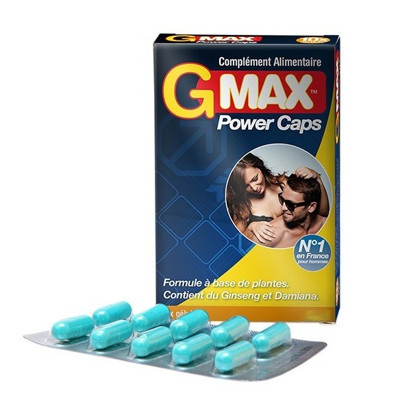 G-MAX Power Caps 10 cápsulas
