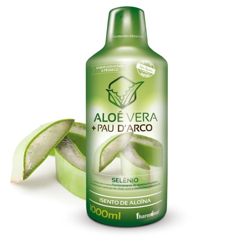 Aloe vera + pau darco 1000ml