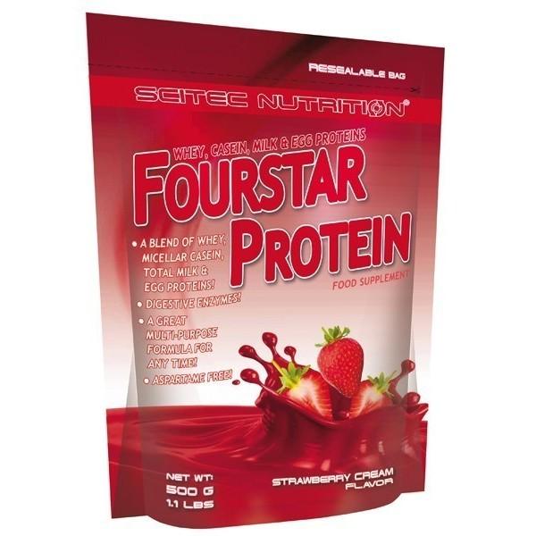 Fourstar Protein 500gr - Creme de morango