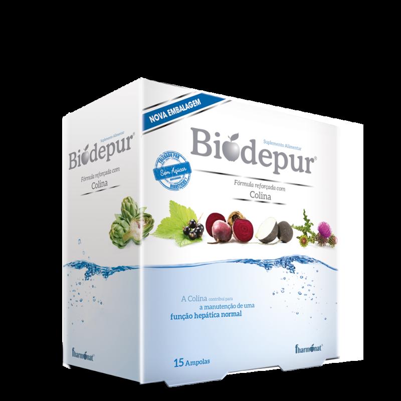 Biodepur 15 ampolas
