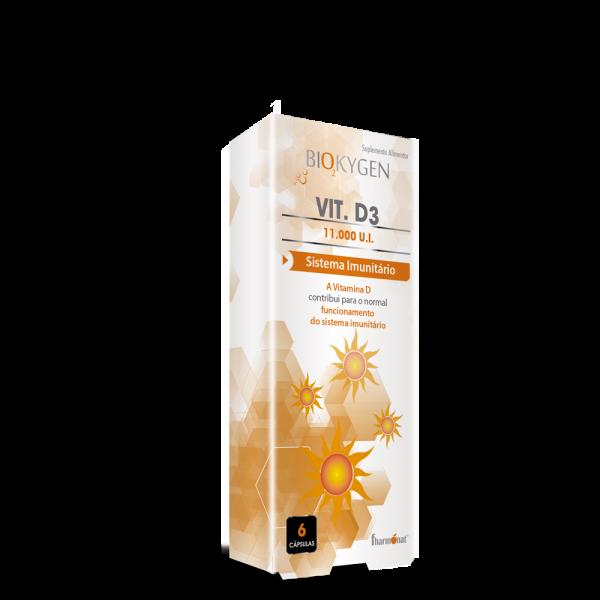 Biokygen vit d3 – 6 cápsulas