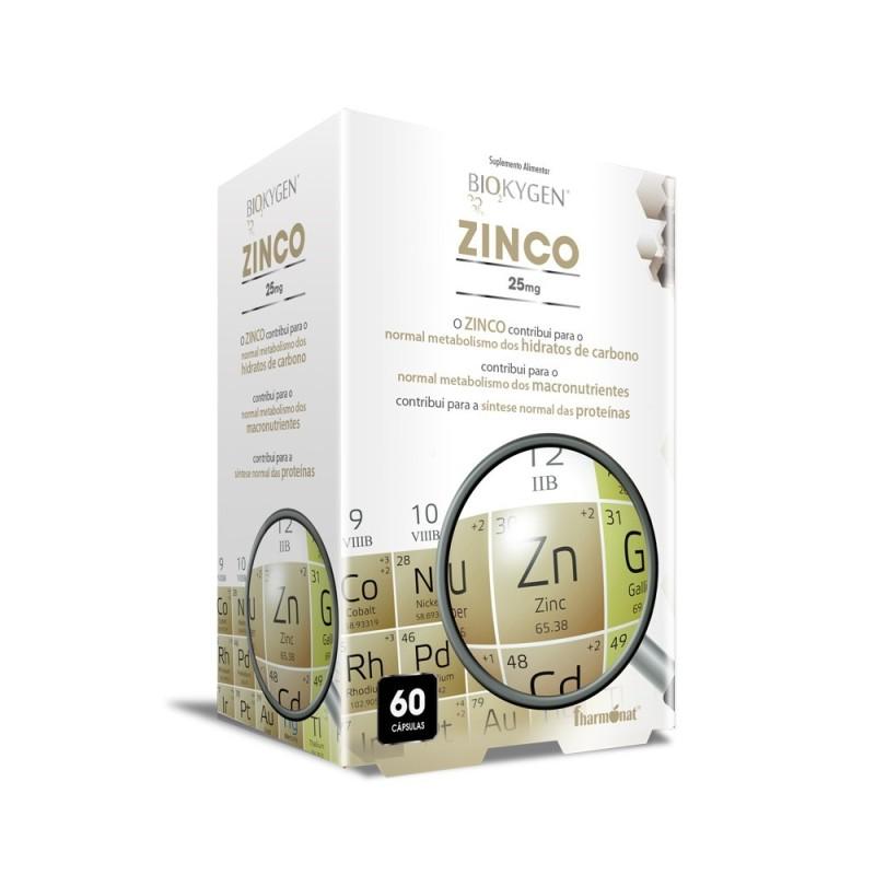 Biokygen zinco 60 cápsulas