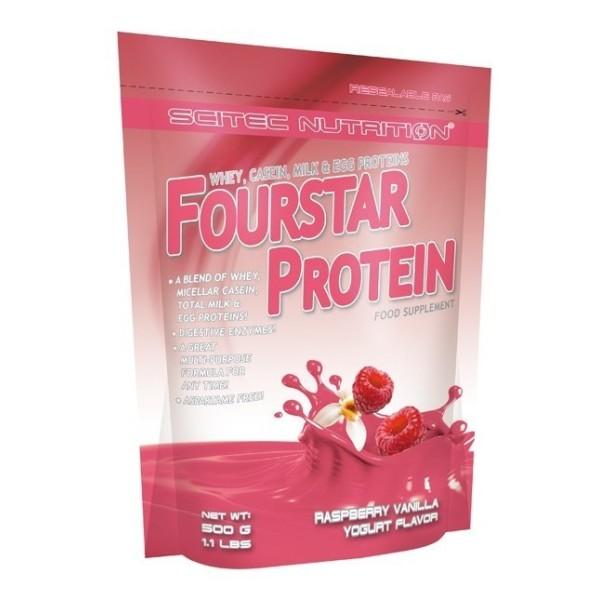 Fourstar Protein 500gr - Framboesa – Baunilha-Iogurte