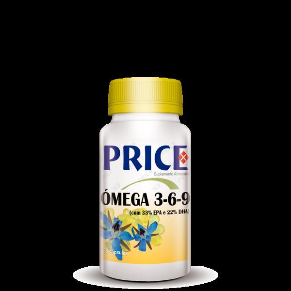 Ómega 3, 6 e 9 – 90 cápsulas price