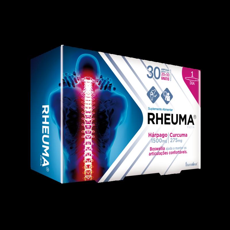 Rheuma Fieta glucomanano 20 ampolas