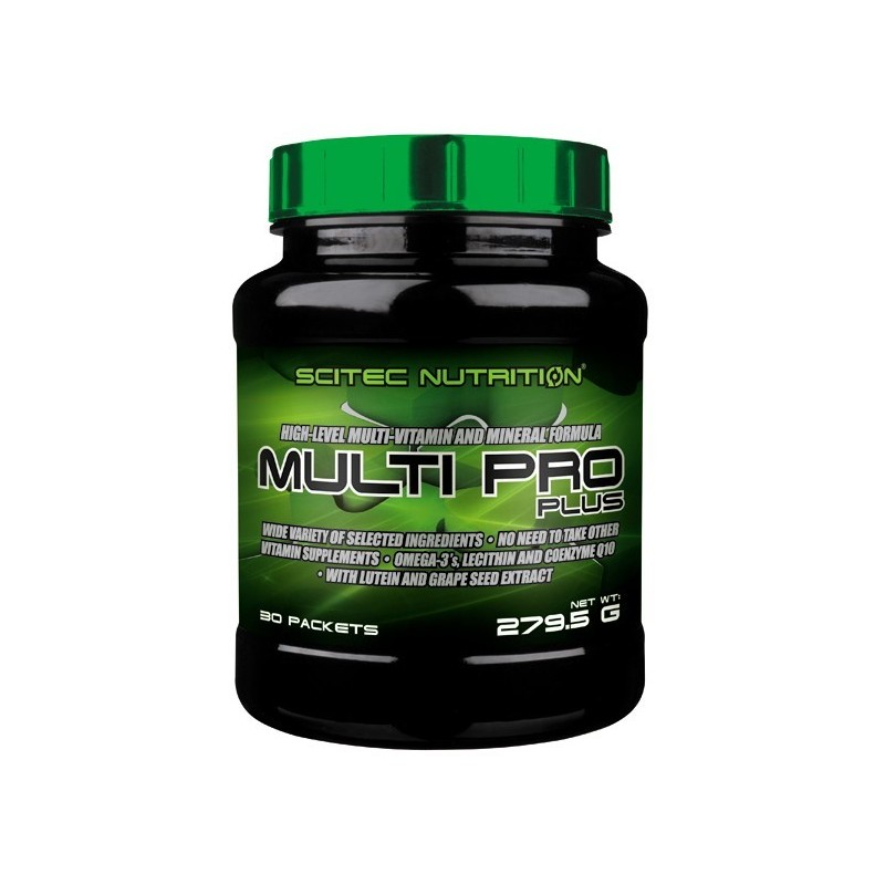 MULTI PRO PLUS 30 packs. Multivitaminico com Omega 3
