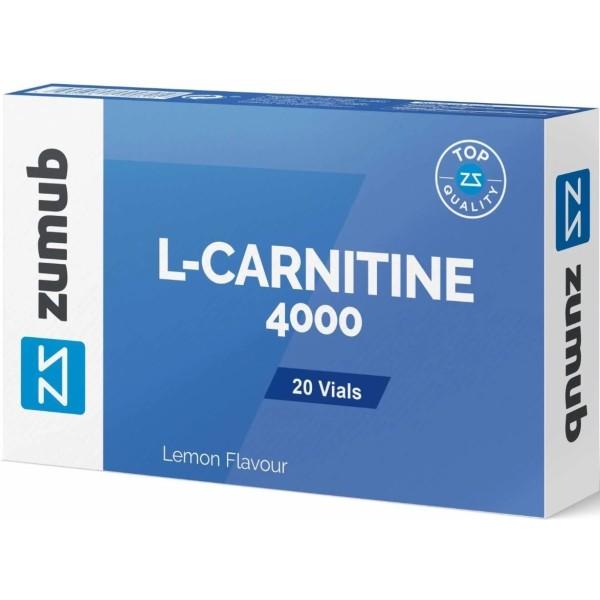 L-CARNITINE 4000 Limão - 20 Ampolas