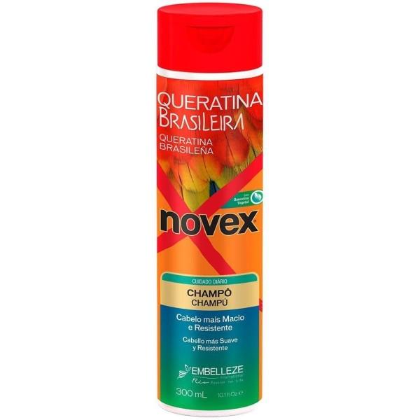 Shampoo Novex Queratina Brasileira 300ml