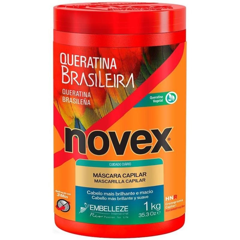 Novex Queratina Brasileira Creme de Tratamento 1Kg