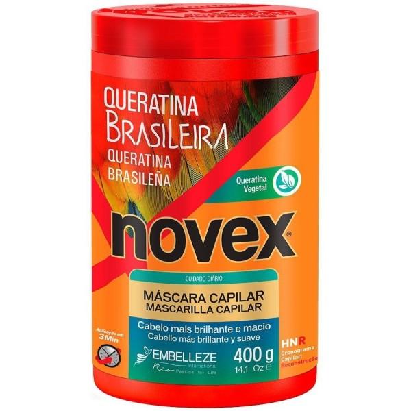 Novex Queratina Brasileira Creme de Tratamento 400g
