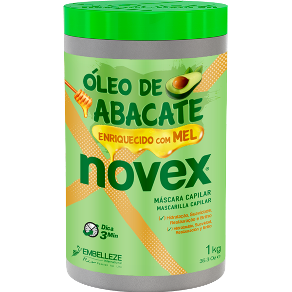 Novex Óleo de Abacate 1Kg